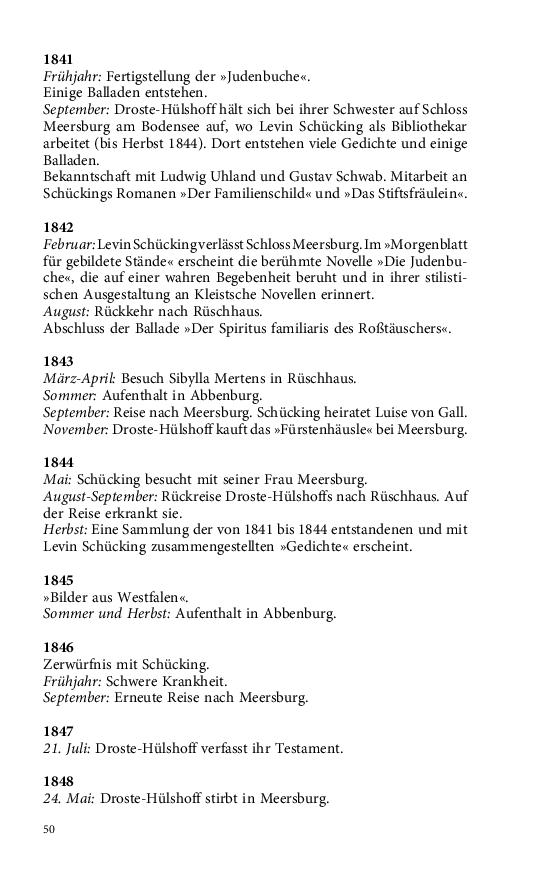 Im Buch Blättern Droste Hülshoff Annette Von Einzeln