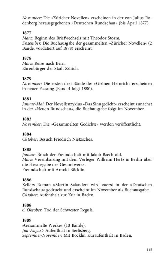 Im Buch Blättern Keller Gottfried Gedichte 1846