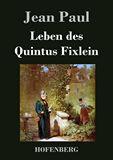 Leben des Quintus Fixlein